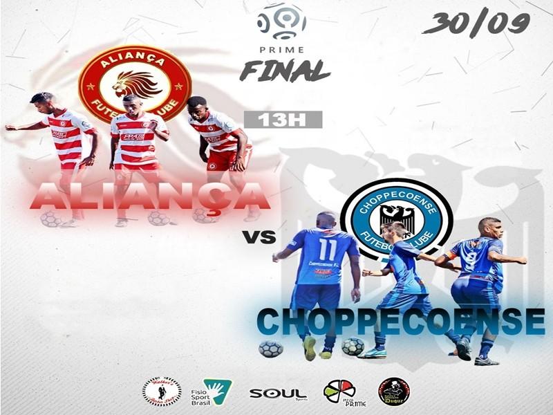Grande final - Aliança x Choppecoense!