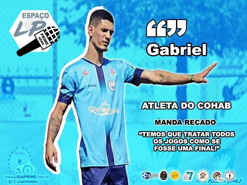ESPAÇO LP - ED. 05 - GABRIEL