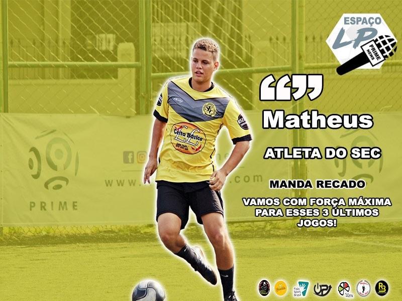 ESPAÇO LP - ED. 04 - MATHEUS